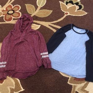 Bundle of justice tops size 10